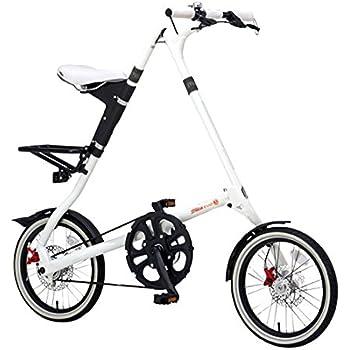 STRIDA(ストライダ) 16インチ折りたたみ自転車 内装3段変速 アルミフレーム STRIDA EVO16 ホワイト 31927