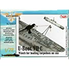 1/72 UボートVIIc用 魚雷積込ウインチ