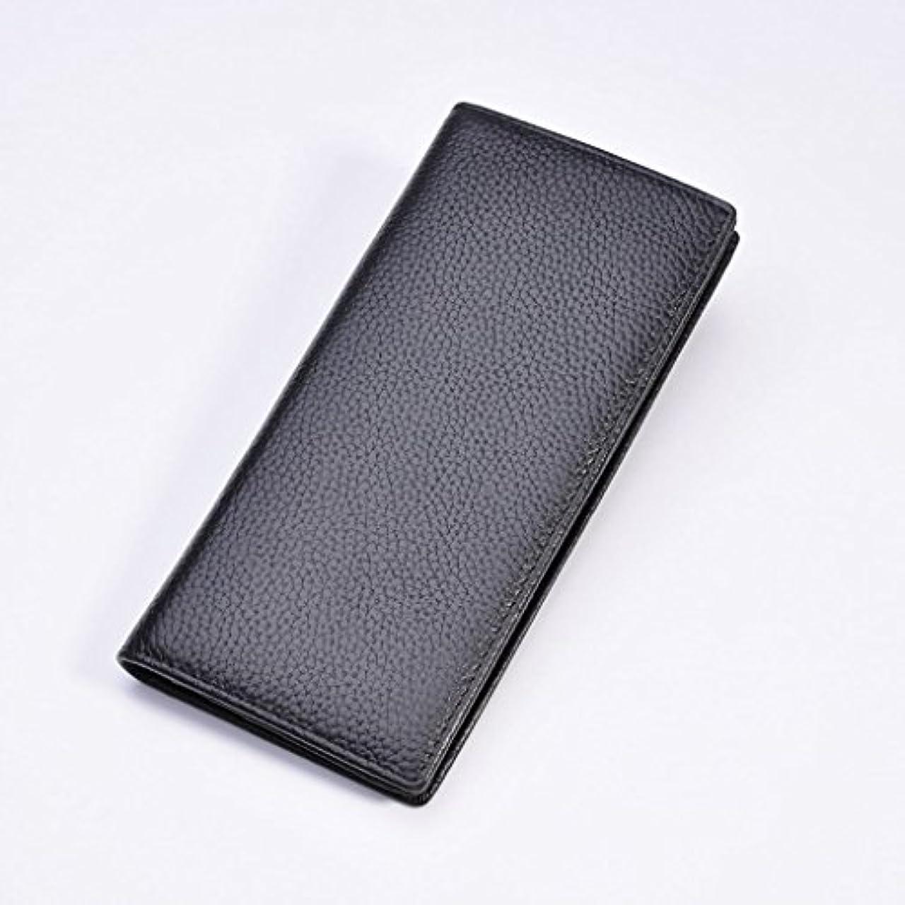 耐えられない引き出す確かめる長財布 本革 メンズ 二つ折り 牛革 財布 コンパクト 大容量 カード12枚収納 実用
