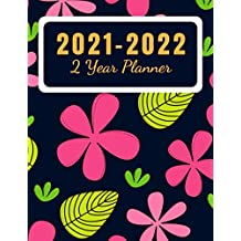 2021-2022: 2 Year Planner: 24 Months Planner Calendar | Monthly Planner Schedule Organizer | Great Gift Idea for your Loved one | Vol: 12