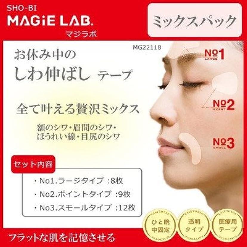 夕食を食べるミニチュア反射MAGiE LAB.(マジラボ) 全て叶える贅沢ミックス お休み中のしわ伸ばしテープ ミックスパック MG22118