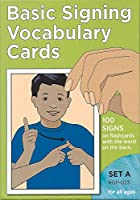 Basic Signing Vocabulary Cards, Set A (Sign Language - Hearing Series/Set A)