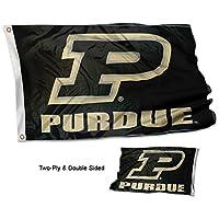 Purdue Boilermakers Slanted P両面フラグ
