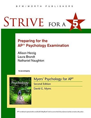 Download Preparing for the Ap Psychology Examination (Strive for 5) 1464156050