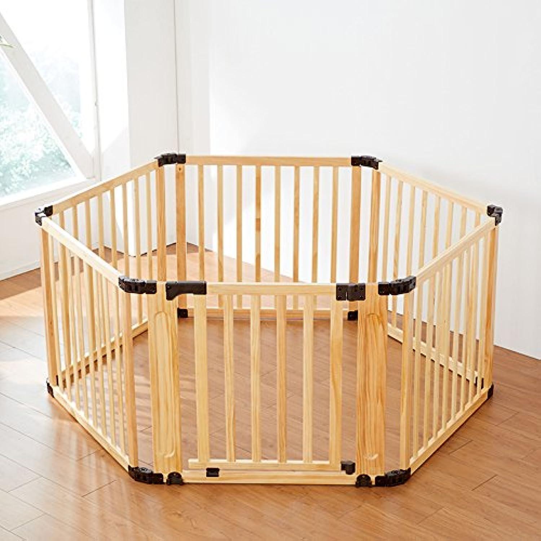 木製サークル フレックス(扉付き6枚セット)