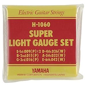 ヤマハ YAMAHA スーパーライトゲージ エレキギター用セット弦 H1060