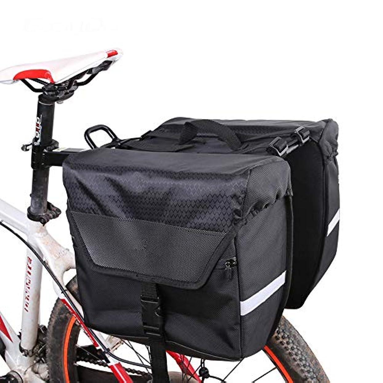 牛肉ひまわりボード自転車 リアバッグ 自転車パニエ自転車パニエトランクバッグ防水自転車後部座席パニエサイクリング旅行に適合 バイクフレームバッグ (Size : Small)