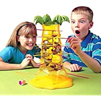 ハロウィン ホットフォールディング タンブリング モンキー ファミリー おもちゃ (ワンサイズ) クライミングボードゲーム キッズ A ブラック aaa