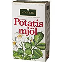 ジャガイモ粉の500グラム - PotatismjolをKockens (x 6) - Kockens Potatismjol - Potato Flour 500g (Pack of 6) [並行輸入品]