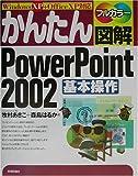 かんたん図解 Power Point 2002 基本操作 Windows XP対応