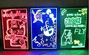 LED PRボード 【30×40cm】 看板 電光掲示板 メニュー ブラックボード