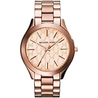 Michael Kors Women's 'Runway' Quartz Stainless Steel Watch Color:Rose Gold-Toned (Model: MK3336)