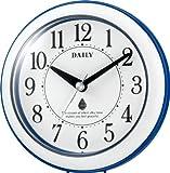 DAILY (デイリー) 掛け時計 置時計 アクアパークN 強化防滴・防塵タイプ マルチフック採用 4KG711DA04