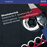 Shostakovich: Symphonies no 5 and 9 / Haitink