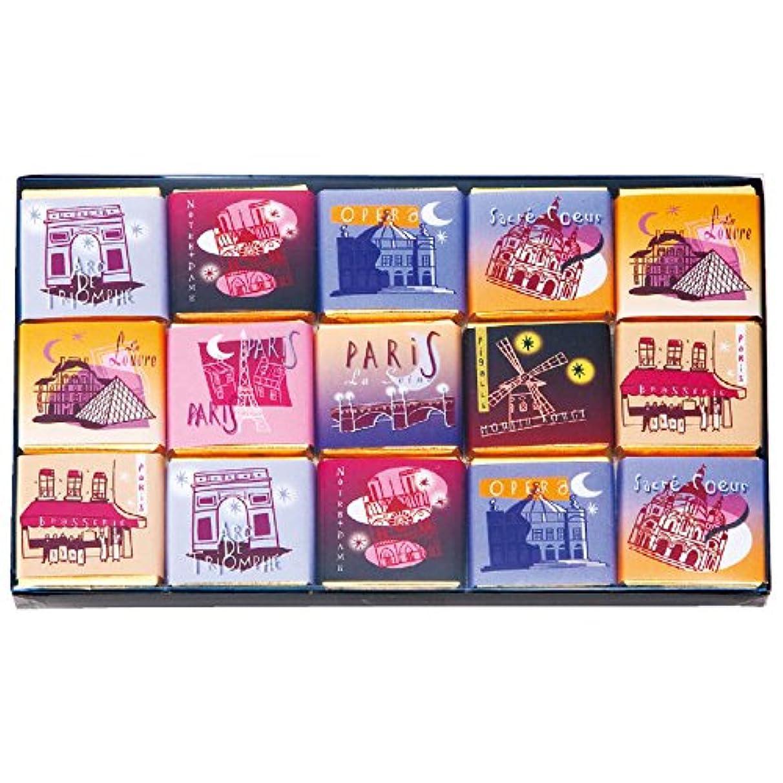 変更可能内なる太陽フランス 土産 モンバナ ミニチョコレート パリスコレクション 3箱セット (海外旅行 フランス お土産)