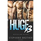 HUGE X3: A MFMM Menage Stepbrother Romance (HUGE SERIES)