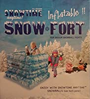 Snowtime Anytime Blow-up Snow Fort by KM INNOVATIONS by KM INNOVATIONS