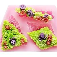 ロンザンMini花f0500フォンダン金型シリコーン砂糖金型クラフト金型DIY gumpaste花ケーキデコレーション用