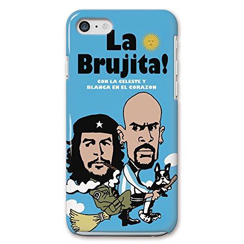 Soccer Junky(サッカージャンキー) iPhone 4 / 4s ベロン revolucionario y Brujita 側面印刷 / スマホケース