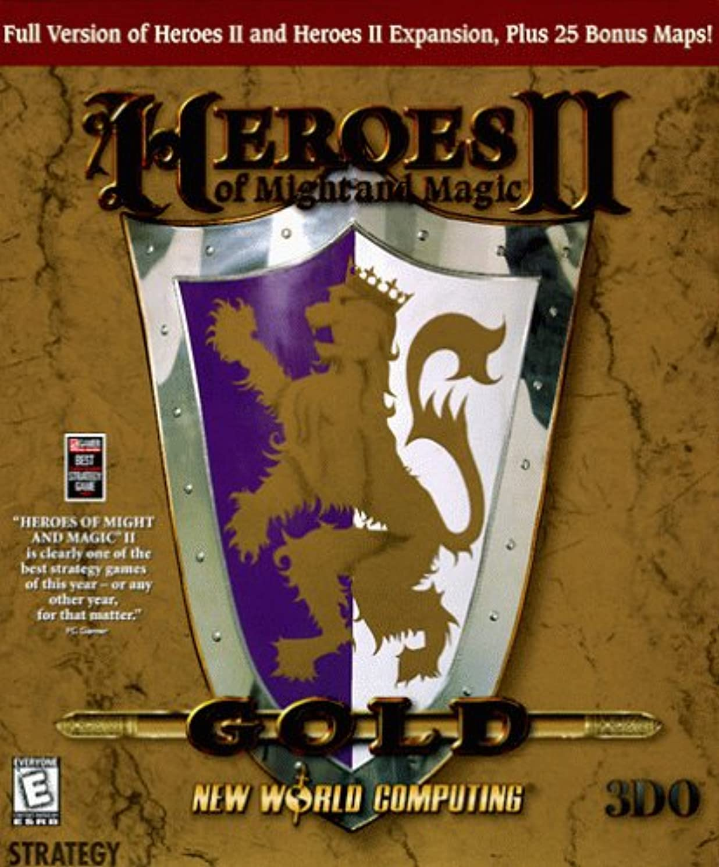 バックフランクワースリー密輸Heroes of Might and Magic II 2 Gold (輸入版)