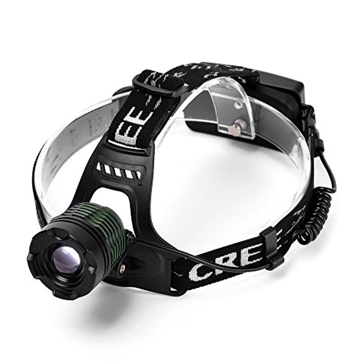文庫本ちらつきパネルVander XM-L T6 LED 1200ルーメン防水ミリタリーフォーカシングヘッドライト [並行輸入品]