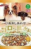 いぬのしあわせ ゴロッと具ルメ 小粒 7歳からの高齢犬用 ささみ &豆腐入り 750g