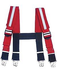 (アーゴダイン) Ergodyne メンズ サスペンダー GB5093 Suspenders-Quick Adj Reflective [並行輸入品]