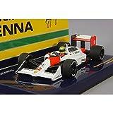☆ ミニチャンプス 1/43 マクラーレン ホンダ MP4/4 1988 F1 ワールドチャンピオン #12 A.セナ