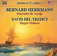 バーナード・ハーマン/デル・トレディチ:クラリネット五重奏曲集