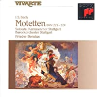 Bach: Motetten Bmw 225