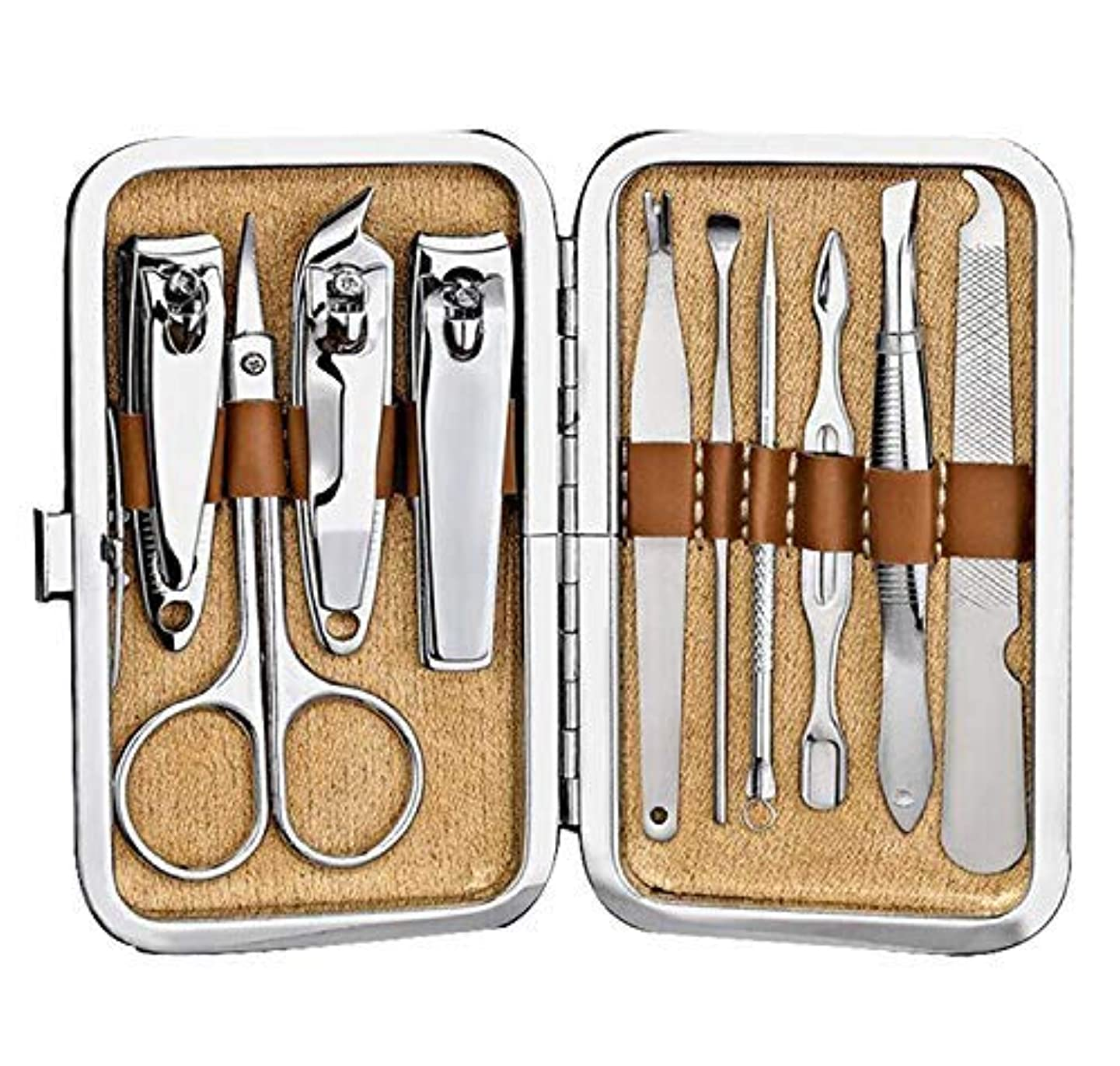 ウナギ散髪飢えたXINYUN Fingernail Clippers Manicure Scissors Stainless Steel Toenail Nippers Nail Cutter Sets (Grind And Stripe...