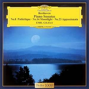 ベートーヴェン:ピアノソナタ第8番&第14番&第23番