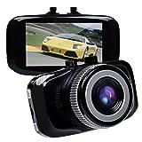 TOGUARD ラドライブレコーダ 先進的なF2.0インパネカメラドライブレコーダ フルHD1080P H.264 LCD Gセンサー LDWS FCWS 駐車監視、動き検知