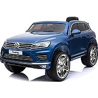 電動乗用ラジコンカー【Volkswagen Touareg】フォルクスワーゲン トゥアレグ 12V7Ahバッテリー【RC/乗用玩具/電動ラジコン】 (ブルー)