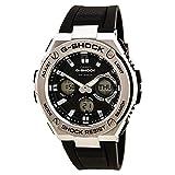 [カシオ]CASIO 腕時計 GショックG-STEELアナログ - デジタルワールドタイム GST-S110-1A ソーラー メンズ [並行輸入品]
