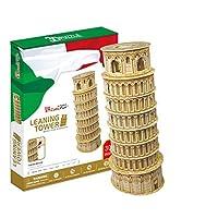 CubicFun MC053H Leaning Towers of Pisa Puzzle [Floral] [並行輸入品]