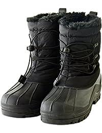 [アルージェ] スノーブーツ 裏ボア 防水ブーツ レインブーツ ウインターブーツ / P4U