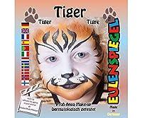 設定の塗装色は顔面-タイガー、Eulenspiegel、EU204047