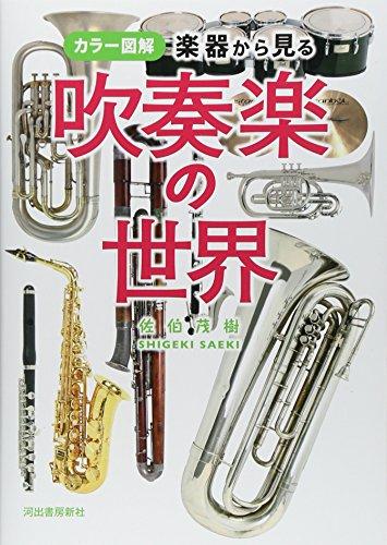 カラー図解 楽器から見る吹奏楽の世界の詳細を見る