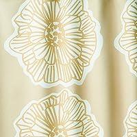 全24柄 2級遮光 オーダーカーテン DESIGN LIFE ダイリン ベージュ 幅100cm 丈130cm 1枚入