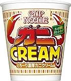 日清 カップヌードル 濃厚カニクリーム味 ビッグ 108g ×12個