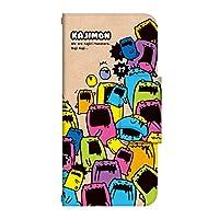 ドレスマ AQUOS R compact 手帳型 ケース カバー アクオスRコンパクト KAJIMONカジモン7(KAT017) TH-AQUOSRCOMPACT-KAT017-WH