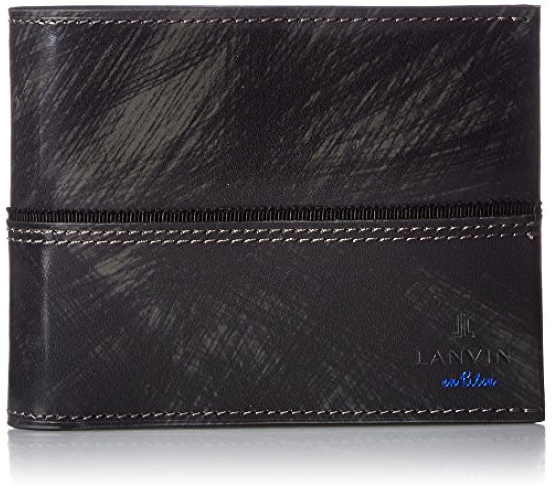 [ランバンオンブルー] LANVIN en Bleu 二つ折り財布 グラン アオリ付 553603