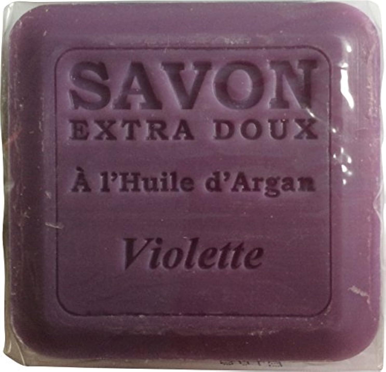 組み立てる影響力のあるジャベスウィルソンPlantes&Parfums [プランツ&パルファム] アルガンオイルソープ100g バイオレット