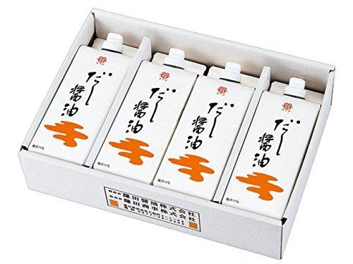 鎌田 だし醤油500ml 4本入り