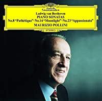 ベートーヴェン:ピアノ・ソナタ第8番《悲愴》・第14番《月光》・第23番《熱情》