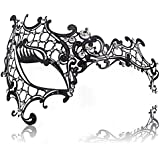 FaceWood Masquerade Mask For Women 10 Style Ultralight Metal Mask.(03)
