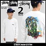 (ステューシー) STUSSY Tシャツ 長袖 メンズ Jester サイズXL ホワイト [並行輸入品]