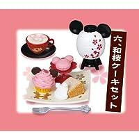 ミッキー&ミニー 桜茶屋 [6.和桜ケーキセット](単品)