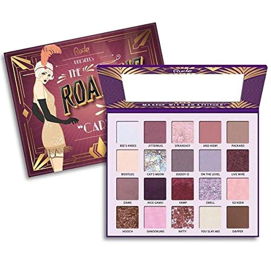 キャップ親密な成功(6 Pack) RUDE The Roaring 20's Eyeshadow Palette - Carefree (並行輸入品)